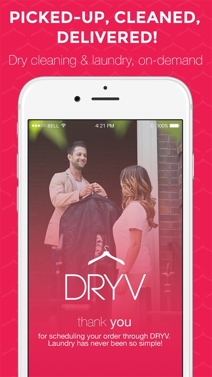 DRYV - Dry Cleaning & Laundry On Demand