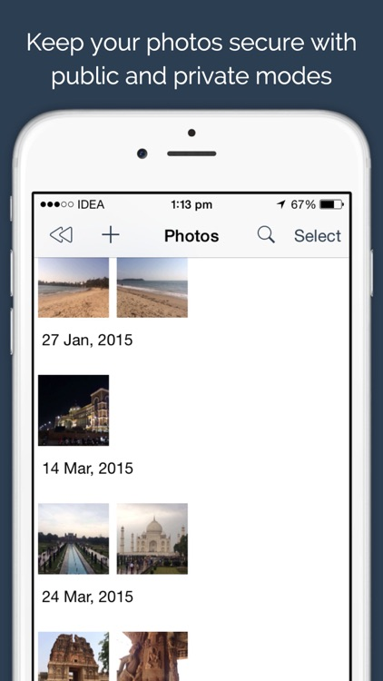 Secure Photos - Private vault to keep your photos safe