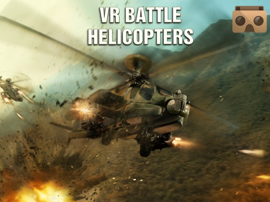 VR Battle Helicopters for Google Cardboard на iPad