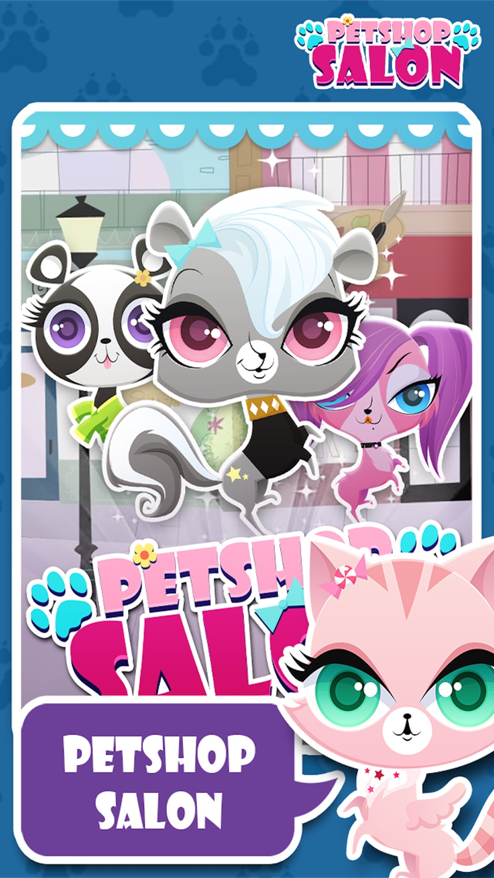Little Pet Salon & Spa Palace : The Royal cute cat & dog Family Puppy shop Game Cheat Codes