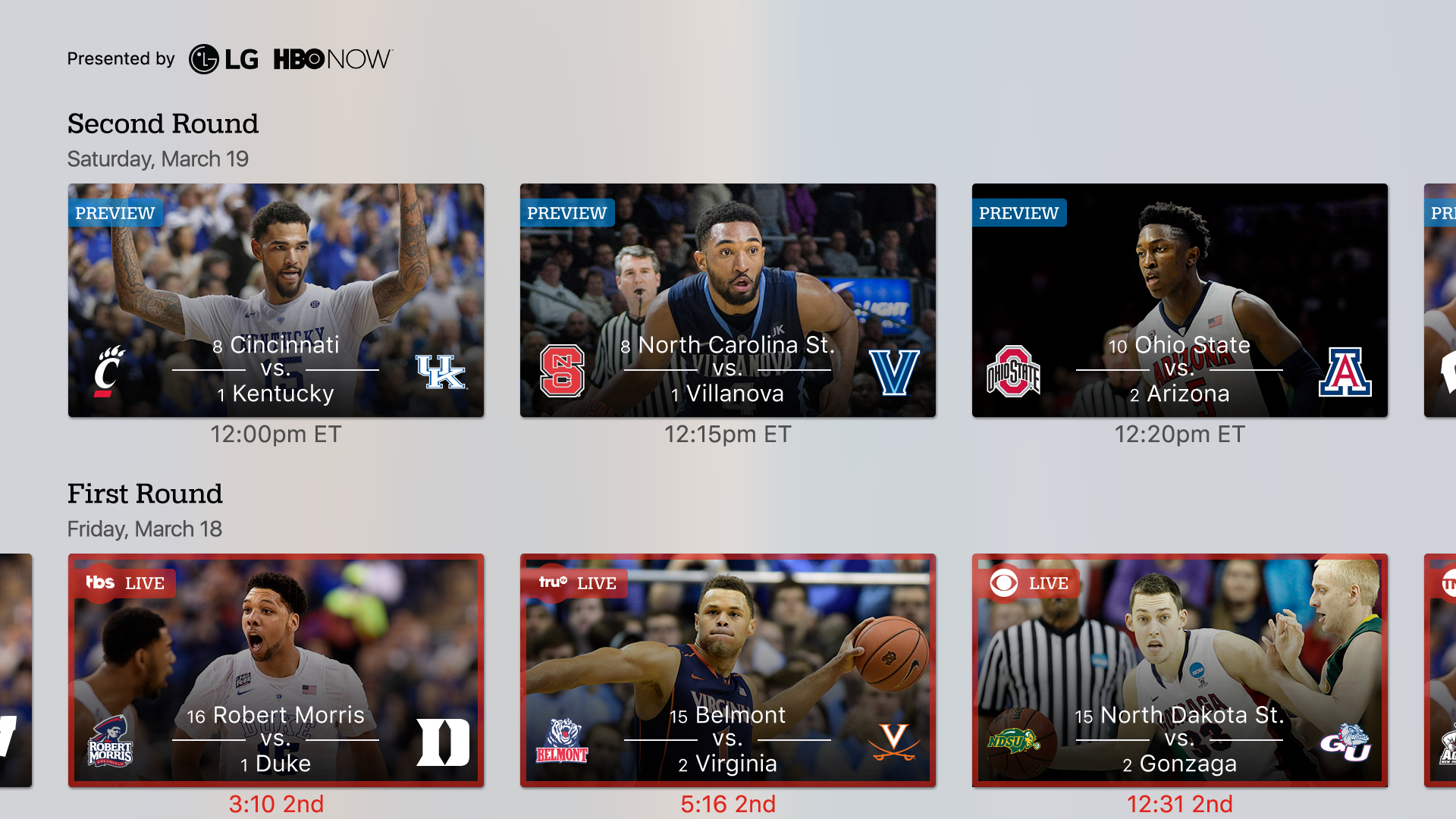 NCAA March Madness Live screenshot 17