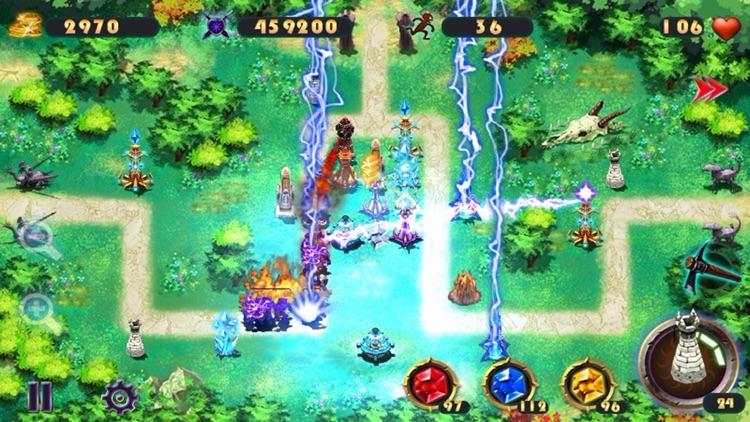 Epic Defense TD - the Elements screenshot-3