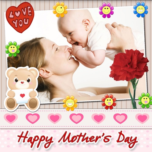 Mother's Day Photo Frames with Love