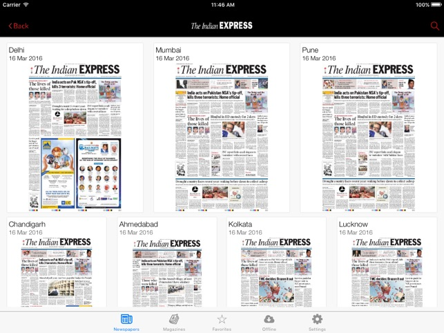The Indian Express for iPad on the App Store