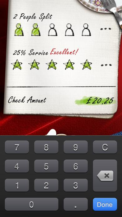 Ihandy Tip Calculator review screenshots