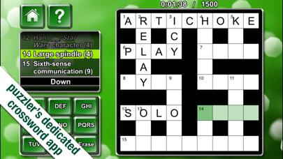 Crosswords Puzzler screenshot one