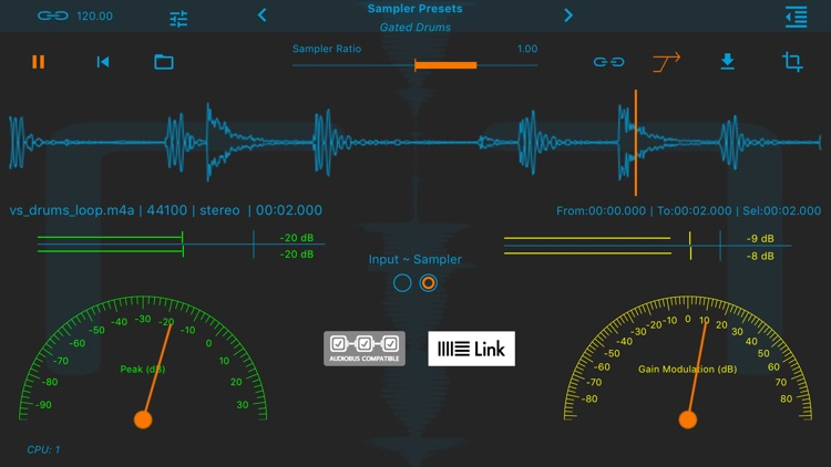 Limiter - Amazing Noises Audio Processor screenshot-0