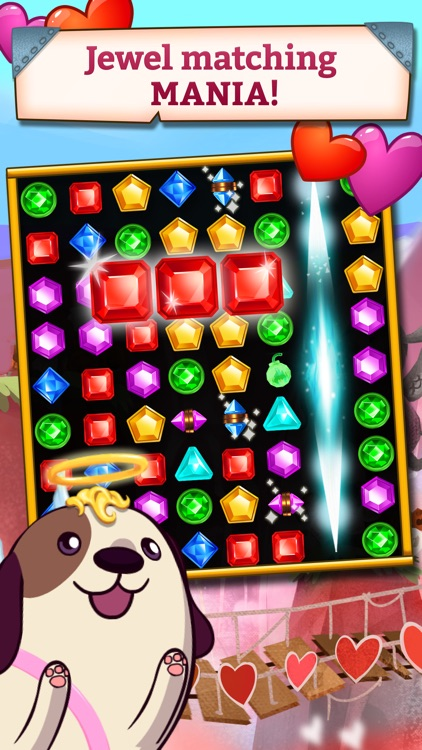Jewel Mania: Valentine's screenshot-0