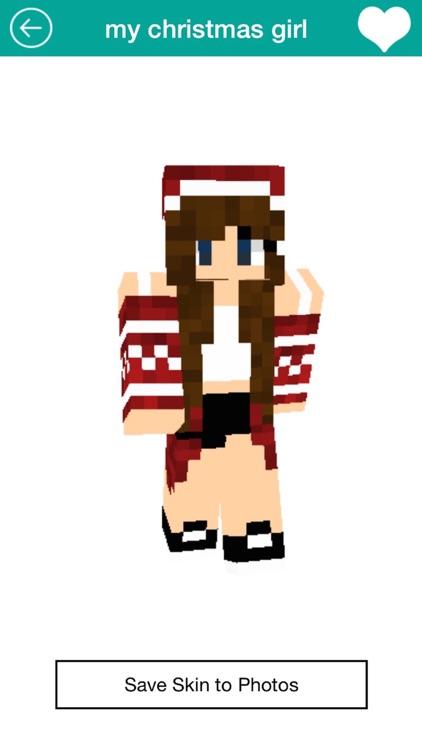 Free Girl Skins for Minecraft PE screenshot-4