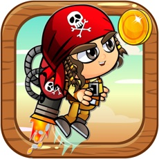Activities of JetPack Pirate - Flying in The Treasure Island Game