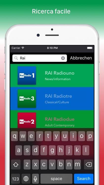 Radio Italia FREE screenshot-3