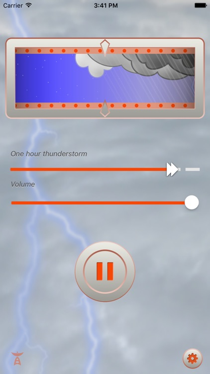 Pocket Storm: Ambient Thunderstorm Audio Environment