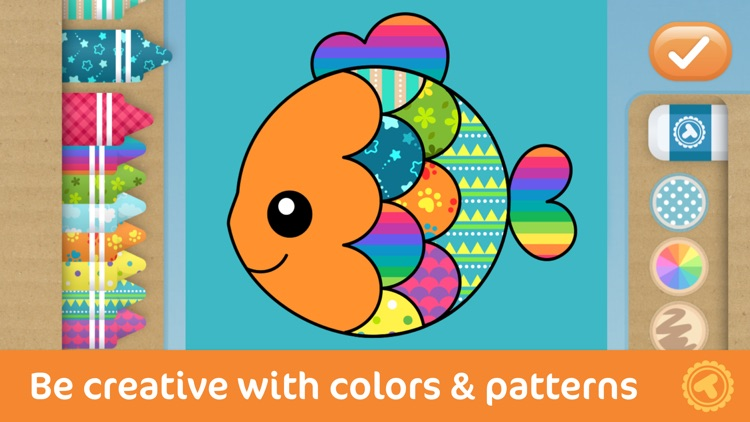 Toonia Colorbook - Educational Coloring Game for Kids & Toddlers screenshot-3
