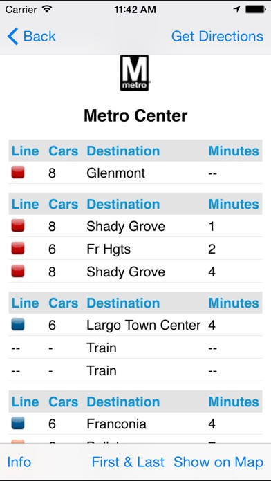 Find A Metro Dc review screenshots