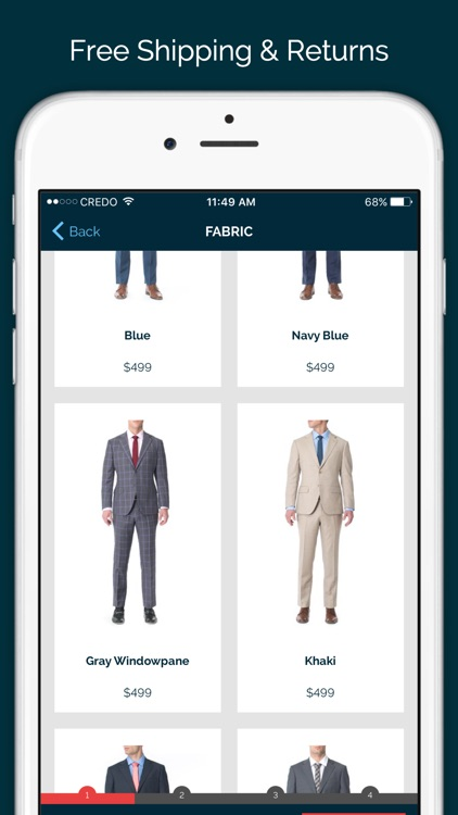 MTailor - Custom Shirts, Suits & Jeans screenshot-3