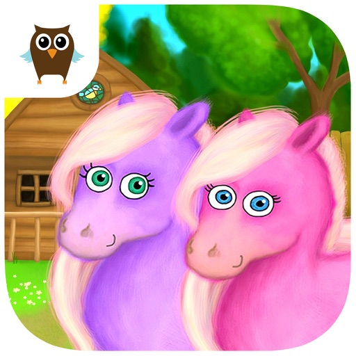 Pony Sisters in Magic Garden - No Ads icon
