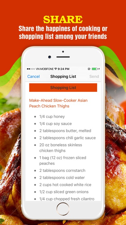 Healthy Chicken Recipes Pro ~ The Best Delicious Chicken Recipes Collection screenshot-4