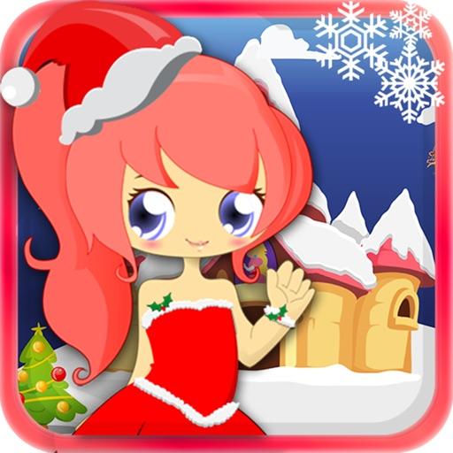 Princess Dress up on Christmas