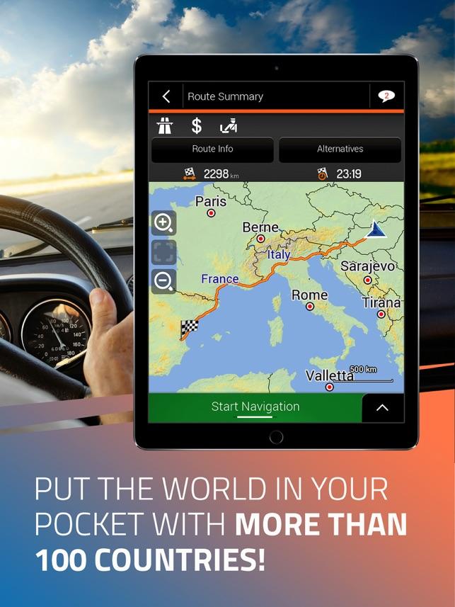 Aplikacja iGO Navigation w App Store