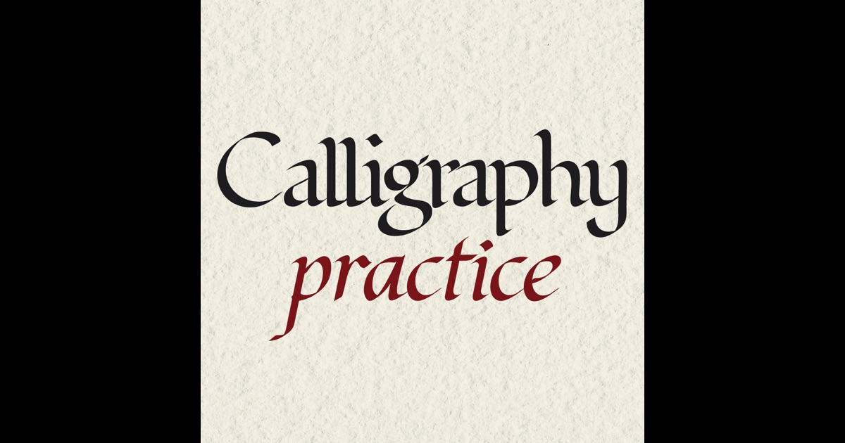 Calligraphy Practice On The App Store