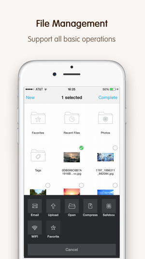 File Expert – A file manager knows you best Screenshot