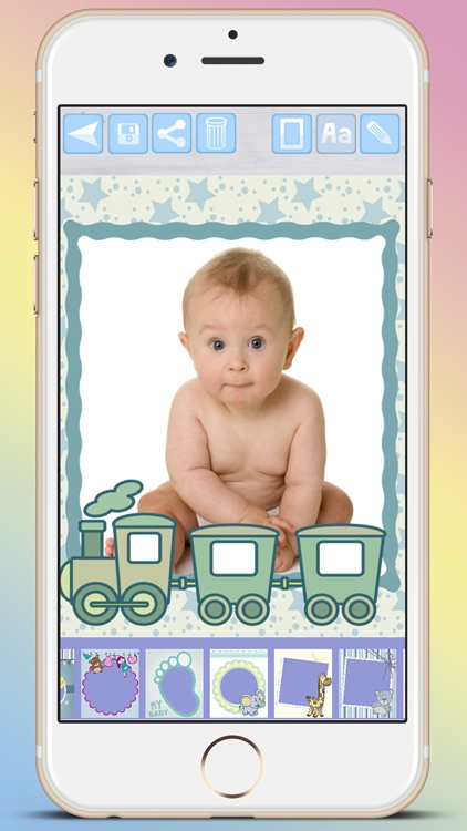 Photo frames for babies and kids for your album - Premium screenshot-3