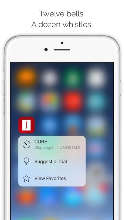 Journal Club: Landmark medical trials at your fingertips screenshot-4