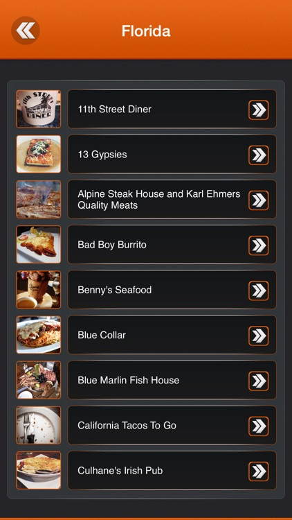Best App for Diners, Drive-Ins and Dives Restaurants screenshot-2