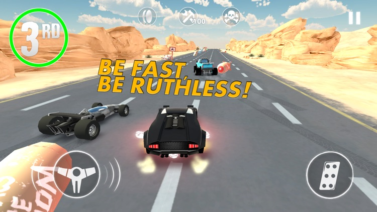 Nitro Punch Car Game screenshot-0