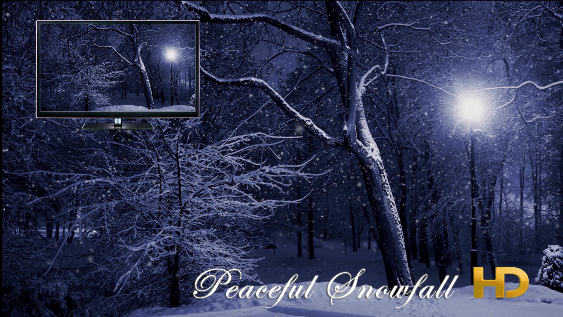 Peaceful Snowfall HD screenshot 9