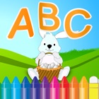 ABC字母动物着色书和图纸A-Z为孩子们 icon