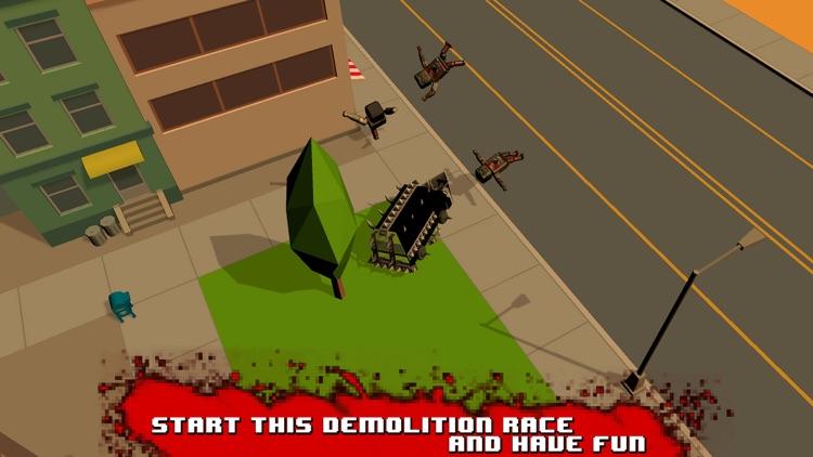 Zombie Smashy Death Race 3D Full screenshot-3