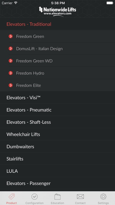 download Nationwide Lifts Elevator Guide - best selection of home and commercial elevators. apps 2