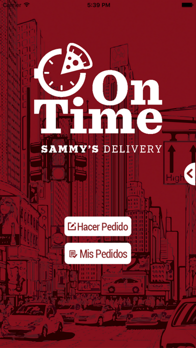 Sammy's Pizza On Time screenshot two