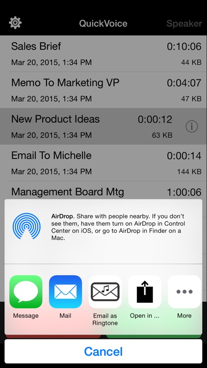 QuickVoice2Text Email (PRO Recorder) screenshot-3