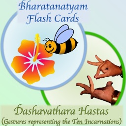 B-Natyam Flash Cards - Dasavathara Hastas