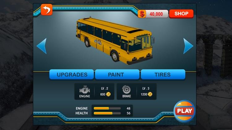 Bus Driver 3D : Hill Station screenshot-4