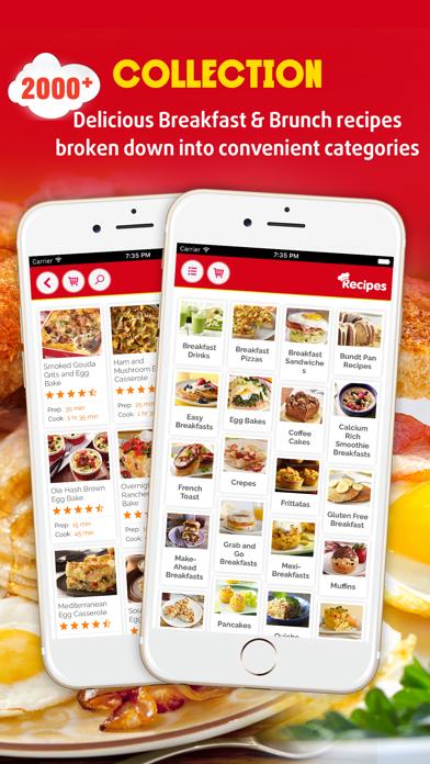Easy Breakfast ~ The Best Breakfast & Brunch Recipes screenshot one