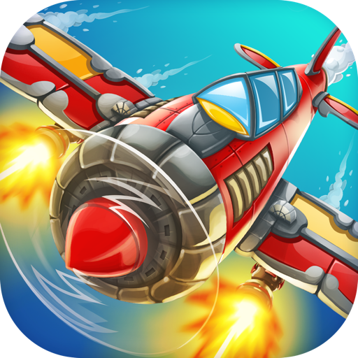 Панда Командир Воздушный Бой: Истребитель В Небе Атака Съемки Силу