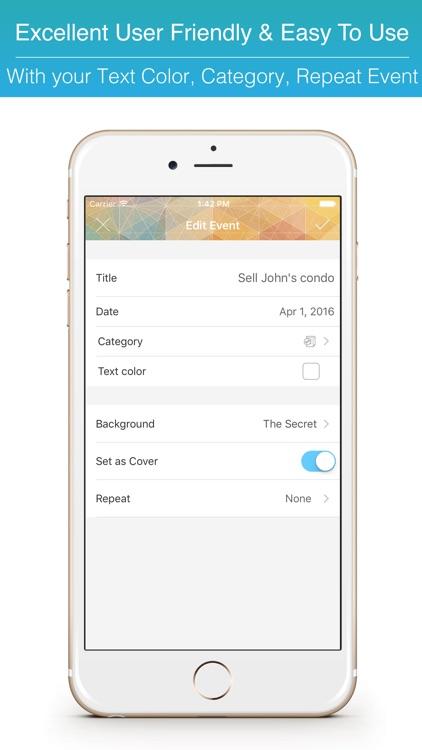 Keeping Task Master Project Planner & Date Reminder Countdown Widget screenshot-4