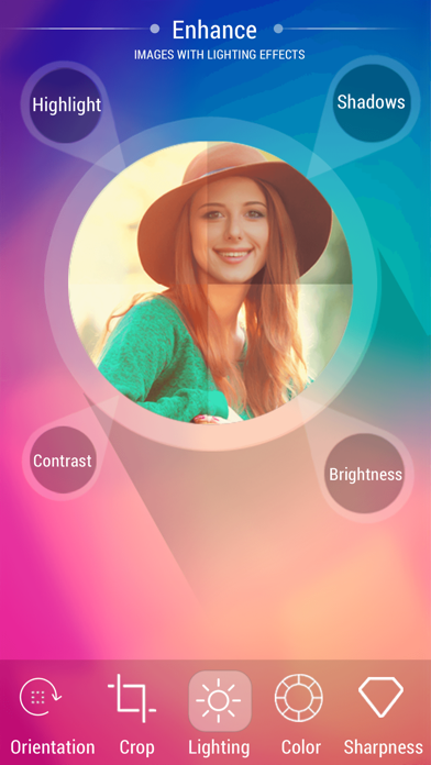 Photo editor pro - Enhance Pic & Selfie Quality, Effects & Overlays screenshot two