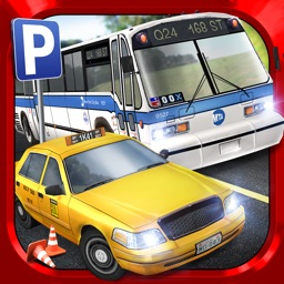 Bus Driving Taxi Parking Simulator Real Extreme Car Racing Sim