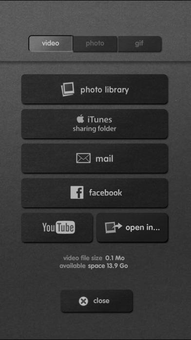 iMotion Screenshot on iOS