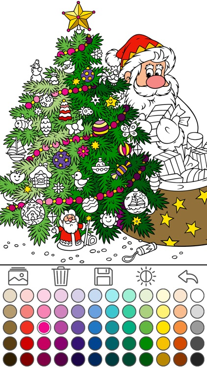 Coloring for kids (Christmas)