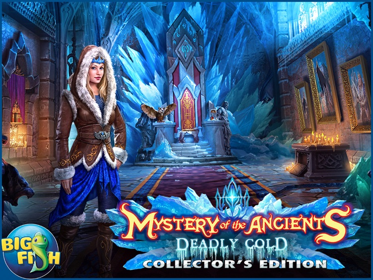 Mystery of the Ancients: Deadly Cold HD - A Hidden Object Adventure (Full) screenshot-4