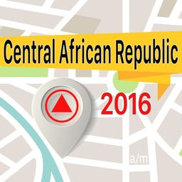 Central African Republic Offline Map Navigator and Guide