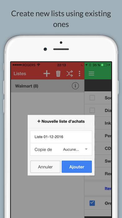 EZ Shopping List Plus screenshot four