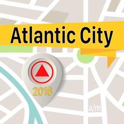 Atlantic City Offline Map Navigator and Guide