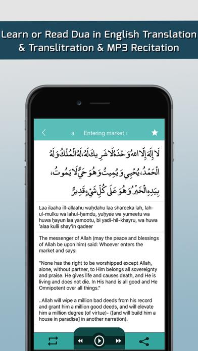 Islamic dua – Daily Duas ,Tasbeeh, 40 Rabbana, Azkar from Holy Quran and Hadith screenshot three
