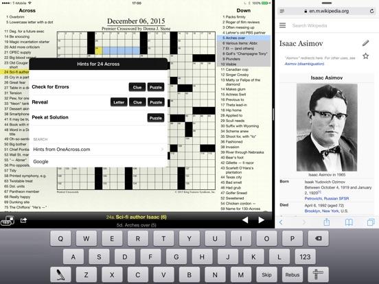 Screenshots for Crosswords Classic